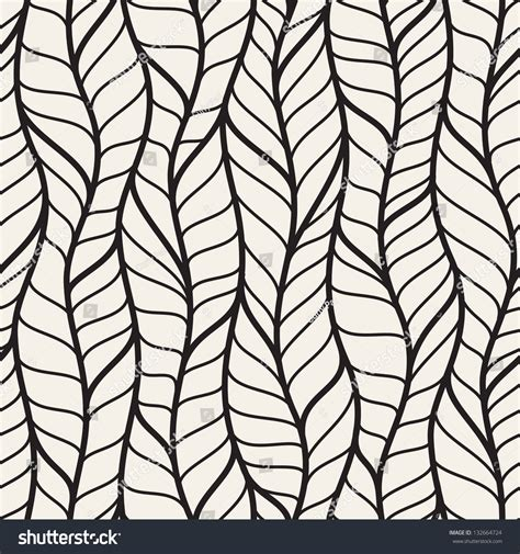 pattern and texture difference seamless pattern different braids endless stylish stock