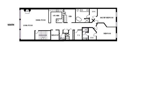 Long Floor Plans by Long And Narrow Floor Plans Open Kitchen Google Search