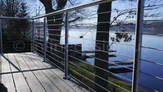 Stainless Steel Railing System Stainless Steel Railing Of Cable Glass Bar Handrail