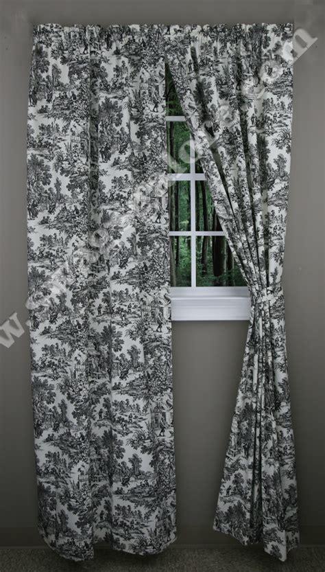 victoria park toile curtains victoria park toile curtains style t675 a l ellis