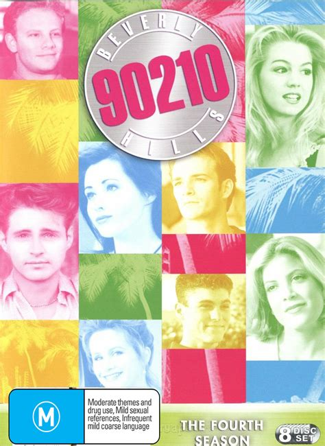 beverly hills 90210 season 8 beverly hills 90210 season 4 8 disc box set dvd