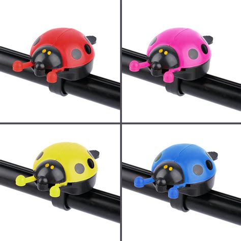 Alarm Ride It lovely kid beetle ladybug ring bell for cycling bicycle