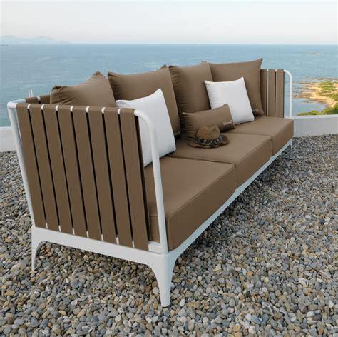 divani per esterno divano 3 posti imbottito per esterno idfdesign