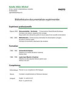 Lettre De Motivation De Bibliothécaire Exemple De Cv Biblioth 233 Caire Documentaliste