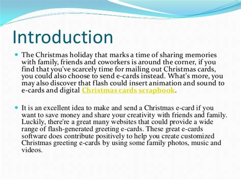 how to create a christmas e card with flash