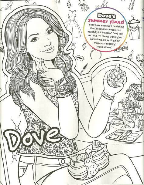 descendants coloring pages of mal 95 coloring pages descendants 2 printable my little