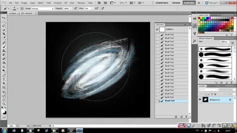 tutorial photoshop galaxy photoshop tutorials for beginners how to draw a galaxy