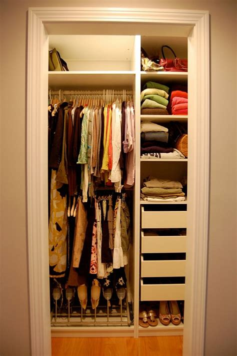 organizing small closet small closet organization design ideas pictures 011