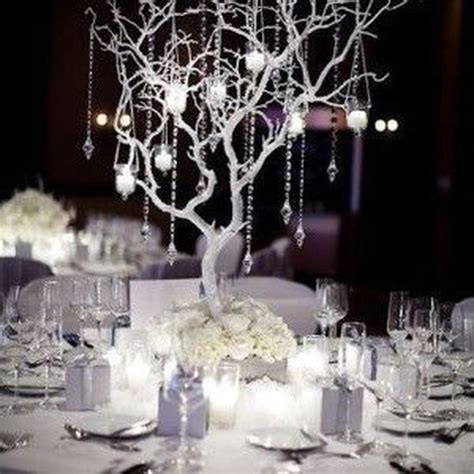 37 classy winter wonderland wedding centerpieces ideas