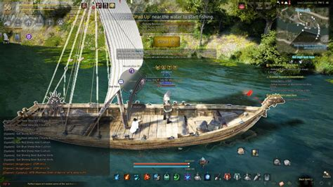 bdo fishing boat vs epheria sailboat afk maxxing fishing for relic shards in black desert