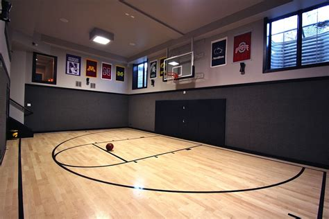 10 Basement Basketball Court Ideas | 10 basement basketball court ideas