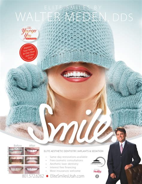 magazine ads elite smiles dentistry draper utah