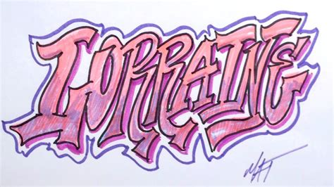 graffiti writing lorraine  design    names