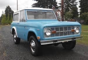 1969 Ford Bronco Clean 1969 Ford Bronco Bring A Trailer