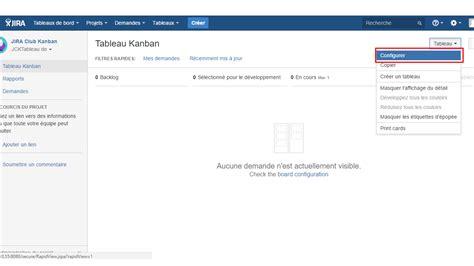 Mba Configuration Menue by Jira Software Les 8 Leviers De Configuration Agile