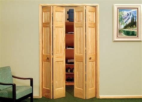 6 Panel Oak Bifold Closet Doors by Solid Wood 6 Panel Bifold Doors Design Interior Home Decor