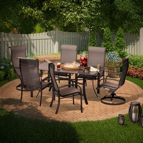Sling Patio Dining Set Upc 490090028174 Threshold Camden 7 Sling Patio Dining Set Upcitemdb