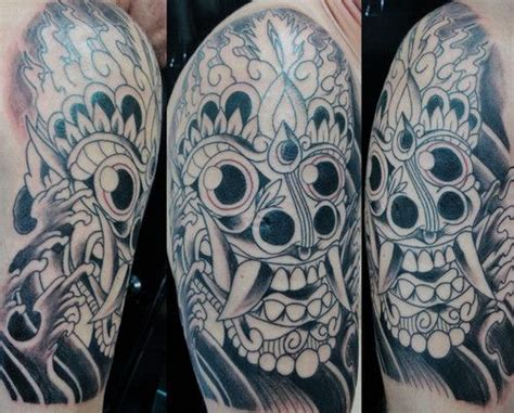 tribal tattoo jakarta barong totoart the o jays balinese and mythology
