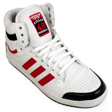 mens high top basketball shoes mens adidas top ten hi tops basketball boot trainers ankle