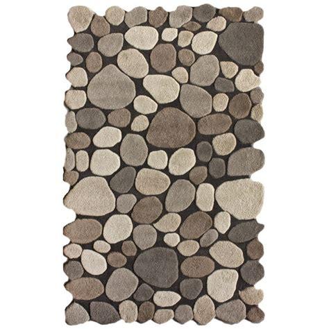 pebble rug pebbles rug a floor of many colors pinterest