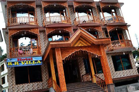 rr villa hotel manali rooms rates  reviews deals contact   map