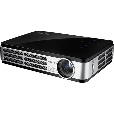 Projector Qumi Vivitek Qumi Q2 Pocket Projector Black Q2 B B H Photo