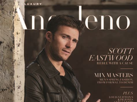 behind the scenes at scott eastwood's photo shoot for