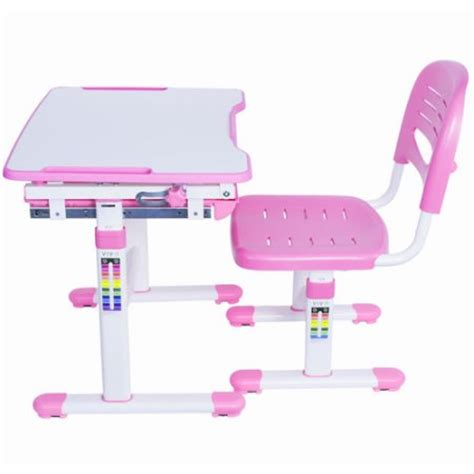 vivo height adjustable childrens desk chair