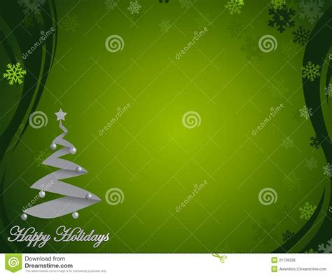 Times Promotes Green Holidays by Green Happy Holidays Background Stock Vector Image