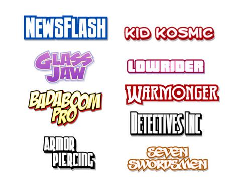 best comic fonts 12 comic book font images comic book lettering