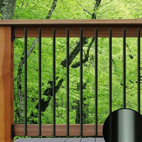 Metal Deck Spindles Traditional Aluminum Balusters Deckorators The Deck