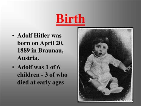 adolf hitler biography childhood life facts hitler early years