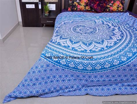Blanket Cover Indian Handmade Cotton King Size Duvet Cover Quilt Cover