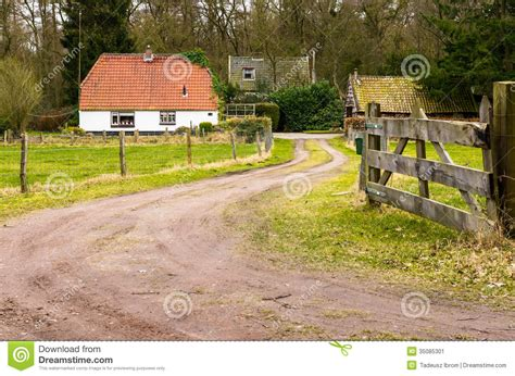 Cottage Farms Location by Farm Stock Image Image 35085301