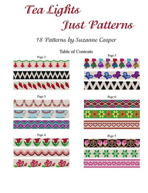 collection beading patterns volume 1 books 17 best images about bead patterns collection on