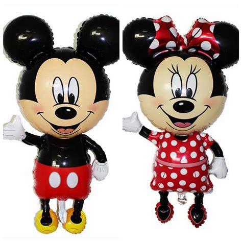 Balon Pesta Ulang Tahun Minions 92x63cm Balon Pesta Anak Disney Mickey Mouse Jakartanotebook