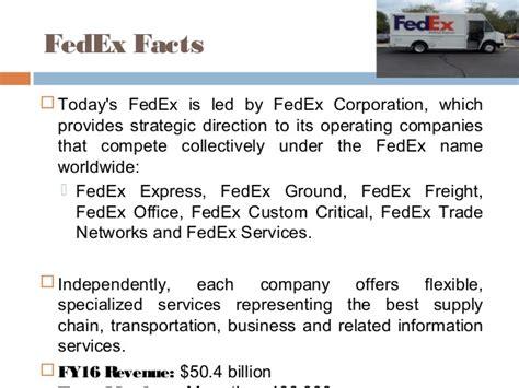Fedex Mba Internship by Hr Policies