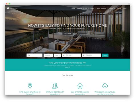 50 stylish and responsive real estate themes