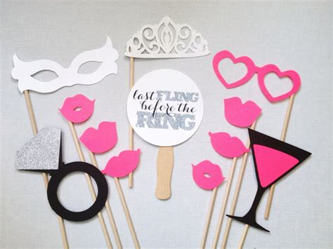 printable photo booth props bachelorette 12 piece bachelorette photo booth props bachelorette party