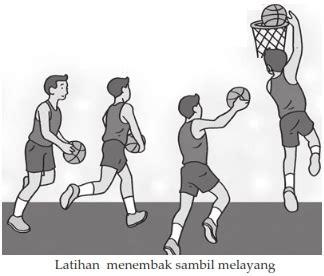 teknik permainan bola basket pustaka materi