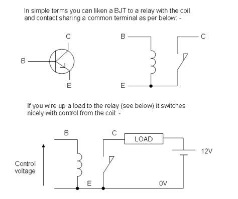 transistor load vs switch transistor help electrical engineering stack exchange