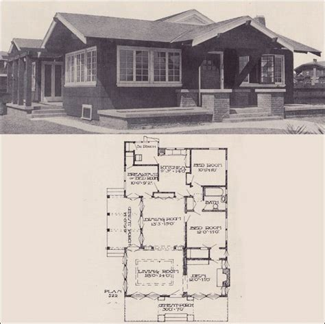 Vintage Bungalow House Plans by 17 Best Images About Vintage House Plans 1910s On