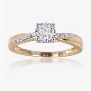 daimond ring 9ct gold ring