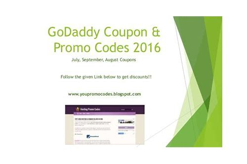 godaddy .com coupon october 2018