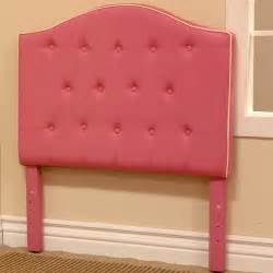 bed pink fabric size headboard detode