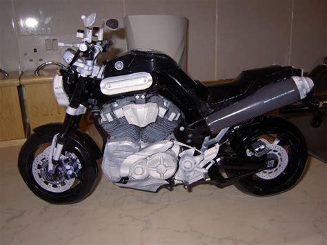 Yamaha Papercraft Motorcycle - yamaha mt 01 motorcycle by greenelf1967 on deviantart