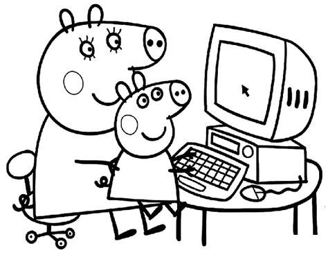 imagenes para pintar de peppa pig dibujos de peppa pig para imprimir y colorear 161 gratis 174