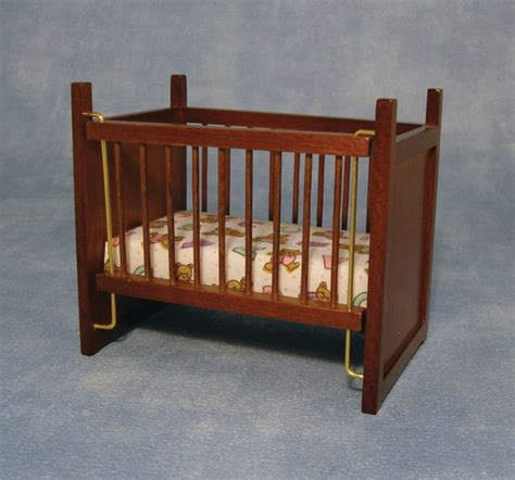 Hand Made Cribs Cots Moses Baskets In 1 12th Scale Baby Moses Cribs
