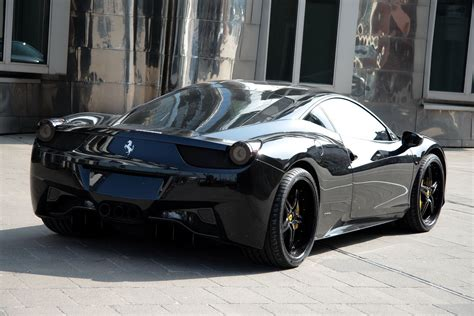 ferrari black the top cars ever new look ferrari 458 italia black