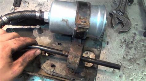 volvo  wagon   pump removal youtube